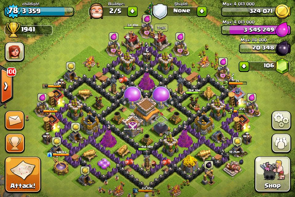 townhall 8 war and farming clash of clans bangladesh community