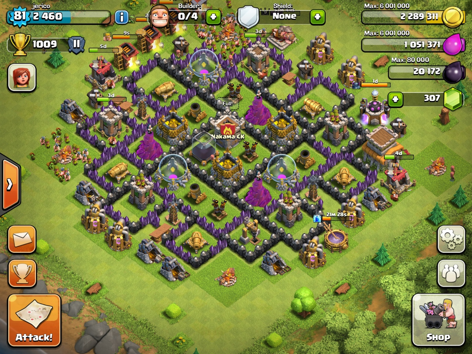 Details on how to farm in Clash of Clans
