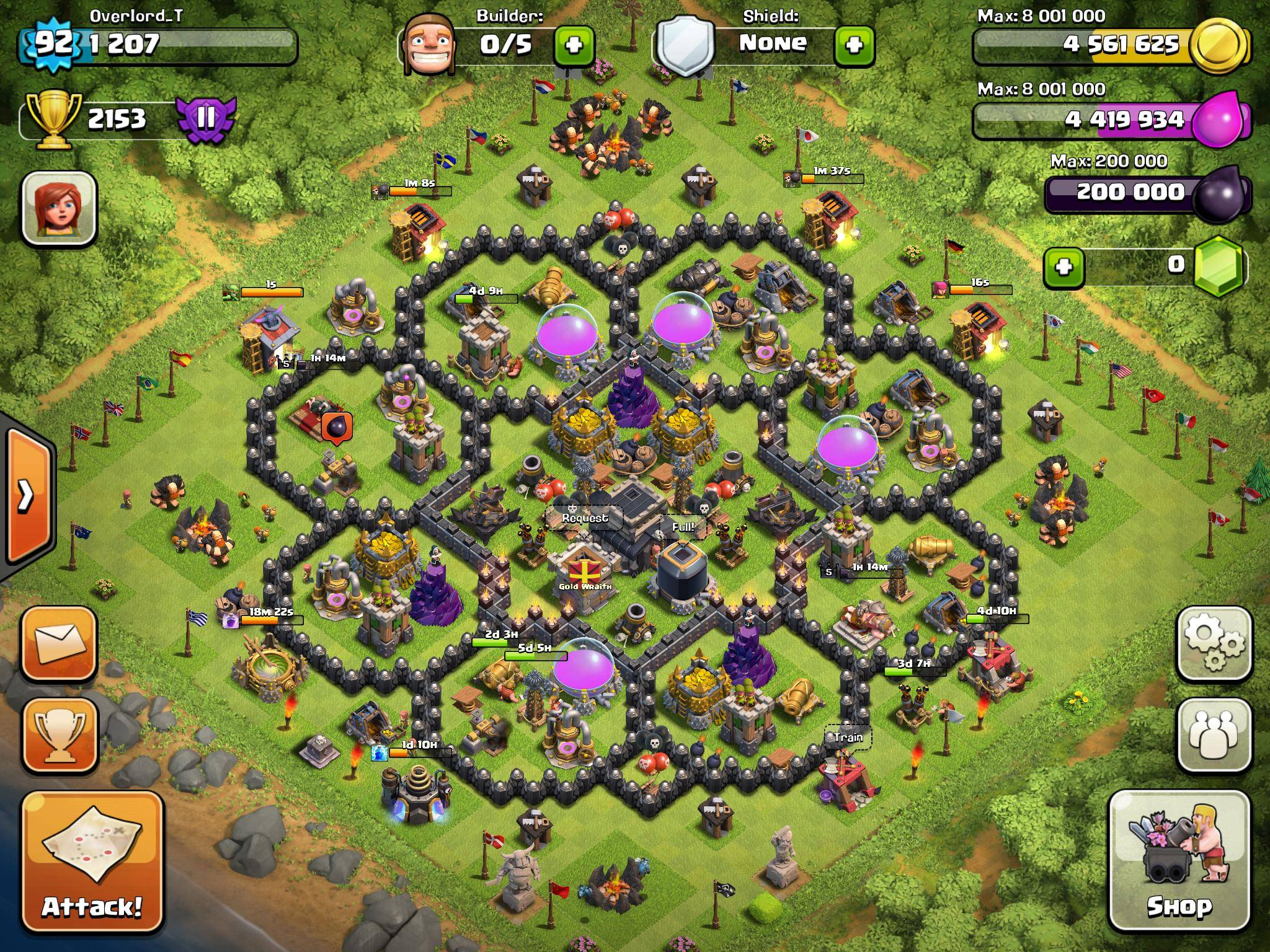 Th9 War Base 2 Air Sweeper